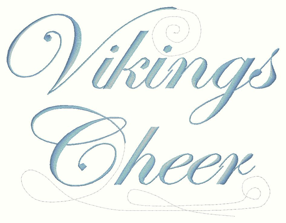 VIKING CHEER SCROLL